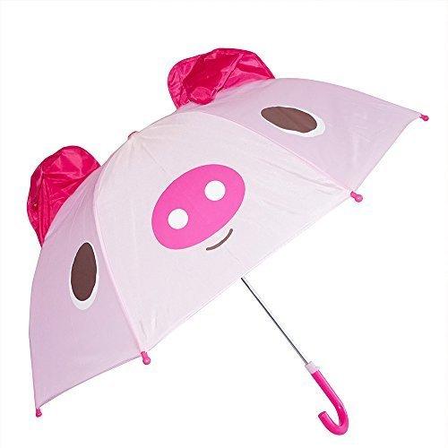 Kiddi Choice 3D PopUp Pig Cute Umbrella, Pink
