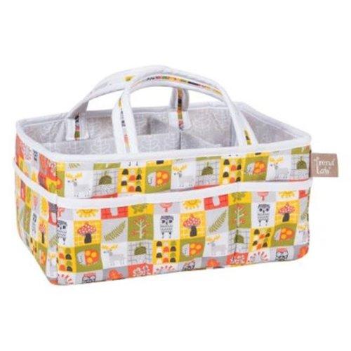 Trend-Lab 102752 Olive Owl Storage Caddy