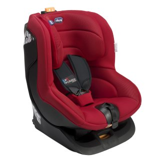 Chicco Oasys Group 1 Isofix Car Seat in Fire Red