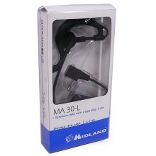 Two Way Radio Headset Earphone with Boom Microphone