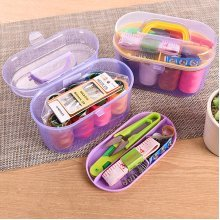 Portable Multi-function Sewing Kit Needle Thread Scissor Mini DIY Tools Home Travel Sewing Set