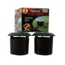 2 X Natural & Simple Slug Traps - Beer Garden Snail Safe Soil Grass Easy -  beer garden traps slug snail safe soil grass easy chemicals 4812 catcher