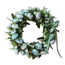 Artificial Wreath Hanging Floral Garland Door Wreath Wedding Decor #03