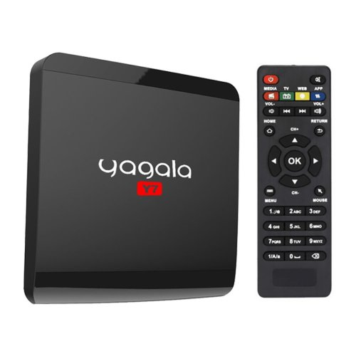 YAGALA Y7 Android TV Box with Android 6.0 Rockchip RK3229 Quad Core