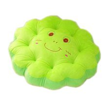 Cute Plush Seat Cushions Extra Soft Back Chair Pad  for Kitchen Office Car?Frog