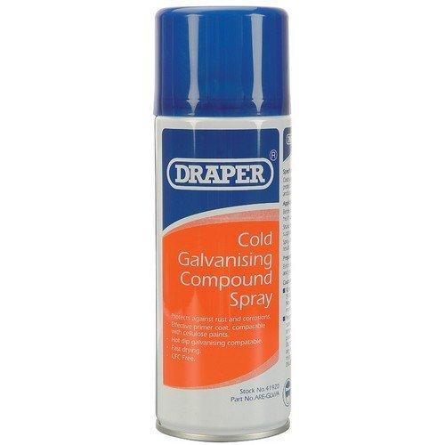 Draper 41920 400ml Cold Galvanizing Compound Spray