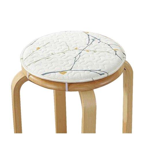 [G] Soft Round Stool Cover Bar Stool Seat Pad