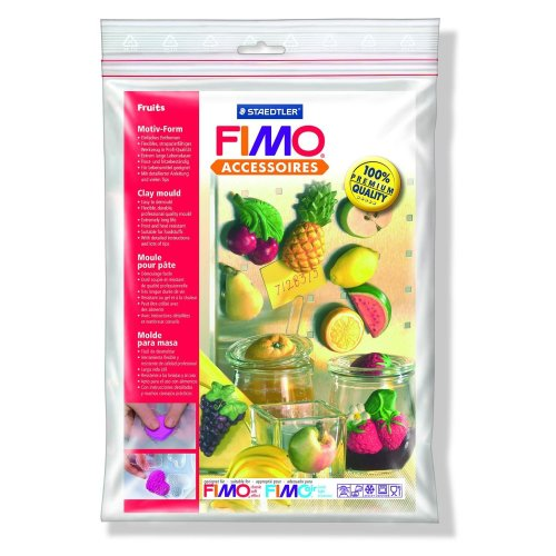 Fimo Clay Moulds - Fruit Shapes