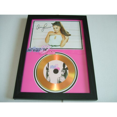 ARIANA GRANDE SIGNED DISC