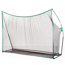 HOMCOM Freestanding Golf Practice Net Training Aids Chipping Hitting with Carry Bag