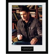 Supernatural Dean Framed Collector Print
