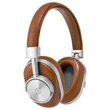 Master & Dynamic MW60 Premium High Definition Bluetooth Wireless Over-Ear Headphone - Brown/Silver