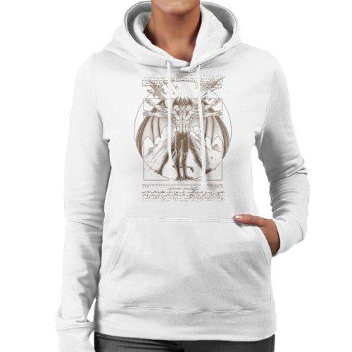 Vitruvian Devil Devilman Crybaby Women's Hooded Sweatshirt