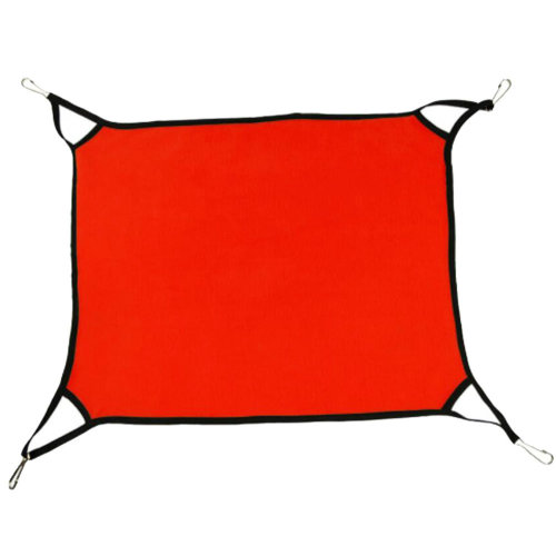 Super Soft Cat Hammock Pet Supplies Cat Beds  Cat Furniture 65 X 57 CM-Red
