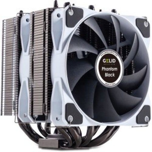 Gelid Phantom Black Dual Tower CPU Cooler GELID-PHANTOM-BLACK
