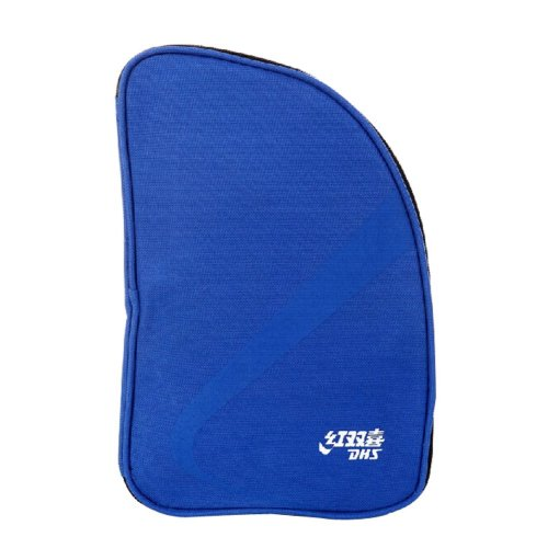 Table Tennis Equipment Fan-shaped Ping Pong Paddle Bag BLUE