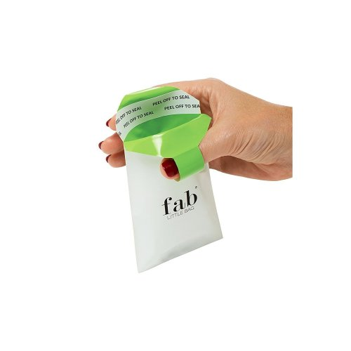 FabLittleBag Sanitary Disposal Bags - 5 Biodegradable Sanitary Bags - Handbag Pack