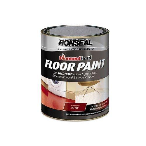Ronseal 36109 Diamond Hard Floor Paint Slate 5 Litre
