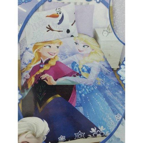 Disney Frozen Crystal Cotton Blend Single Duvet Set