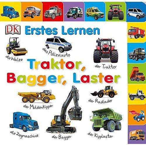 Erstes Lernen. Traktor, Bagger, Laster