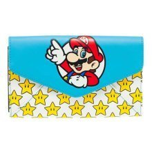 Nintendo Super Mario Bros Mario and Stars Envelop Wallet One Size Multi-Colour