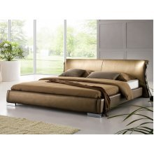 Leather Water Bed - Super King Size - Full Set - 6 ft /180 x 200 cm - PARIS