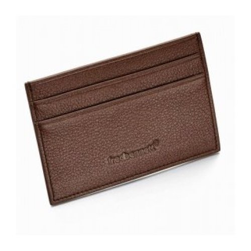 FRED BENNETT card CARRIERS 4CC LEATHER W013