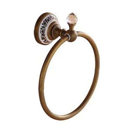 Towel Ring European Style Antique Bronze Towel Holder Fashion Bathroom Accessory