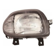 Renault Clio Mk2 5/1998-4/2001 Single Reflector Headlight Lamp Drivers Side O/S