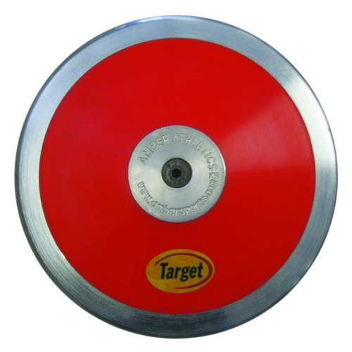 Amber Athletics Gear Target High Spin Throw Discus 1.75kg with 75% Rim Weight