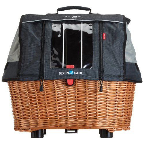 Rixen & Kaul GTA Plus Doggy Basket - Brown, 40 Litre
