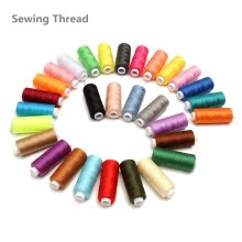 30 Colors 250Yd Polyester Sewing Quilting Embroidery Thread Spools For Home House Hand Machine