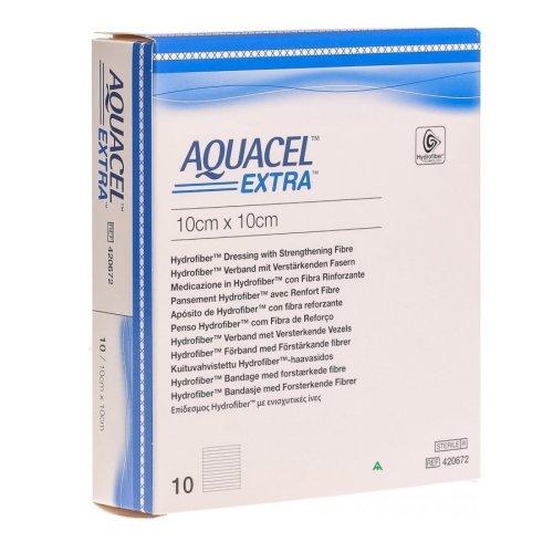 Aquacel Extra 10cm x 10cm Box of 10