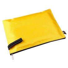 5 PCS Practical Canvas File Storage File Folders Zipper Bag, J