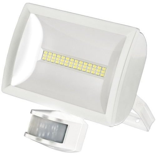FLOODLIGHT 20W LED W/A WHITE LEDX20PIRWH By TIMEGUARD