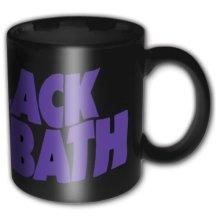 Black Sabbath Mug, Master Of Reality -  black sabbath logo wavy coffee mug boxed purple tea cup