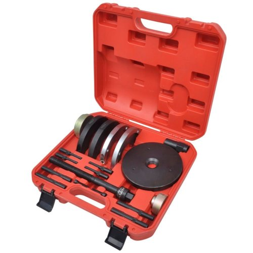 19 pcs GEN2 Wheel Hub Bearing Tool Kit 82mm for Ford, Land Rover,Volvo