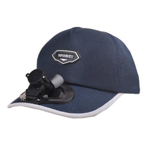 Summer Fan Hat with Fan Fishing Sun Visor Cap#F