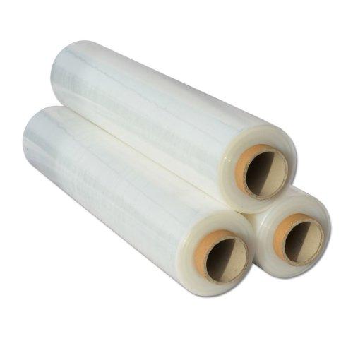 5x  Shrink Wraps Heavy Duty Clear Pallet Wrap Stretch Film 500mm x 450m 23mu 3kg