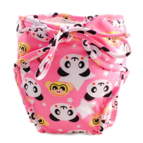 Reusable Swim Diaper Adjustable Absorbent Shower Diapers for Baby Toddler, A14