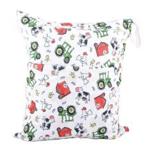 "Funny Chicken Wet Bags Waterproof Diaper Bag Multi-function Nappy Bag-14""*11"""