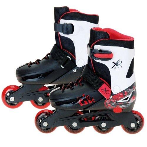 XQ MAX BOYS ROLLER BLADES INLINE SKATES ADJUSTABLE SIZE KIDS PRO SKATING 3 SIZES[BOYS SMALL 11-13.5]