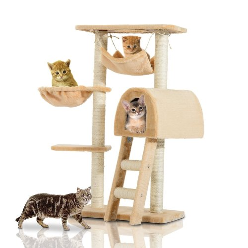 PawHut Cat Activity Centre | Cat Scratching Tree