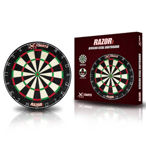 XQmax Darts Dartboard Razor 1 Sisal 45.5 cm QD6000010