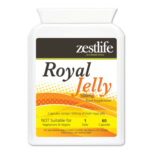 Zestlife Royal Jelly 500mg 60 capsules