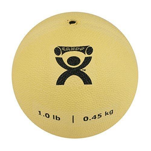 CanDo PT Soft Medicine Ball, Tan, 1 Pound