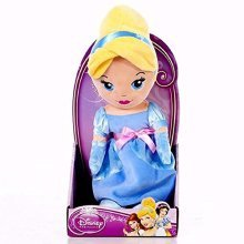 Disney Princess Cute 10 Cinderella Soft Doll - Posh Paws 33302A