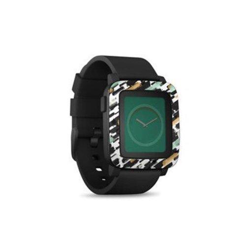 DecalGirl PSWT-BRUSHIN Pebble Time Smart Watch Skin - Brushin Up