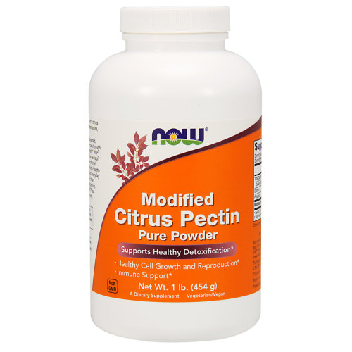 Modified Citrus Pectin Pure Powder 454 g Now Foods, Detox, Immune
