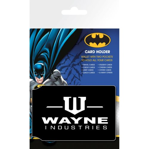 Batman Wayne Travel Pass Card Holder